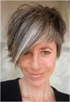 Cute short gray haircut Maybe Hair Pinterest