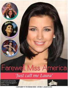 Miss America Year in Review Digital Magazine January 2013 Featuring Laura Kaeppeler Miss America 2012 Kenosha Wisconsin