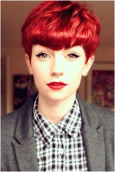 Stylish Upgrade Ideas For Your Short Red Hair ☆ See more s