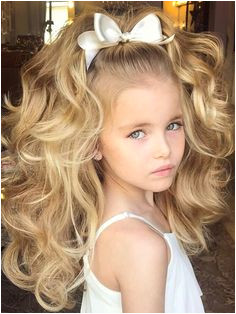 30 Fabulous Long Thick Natural Curls for Baby Girls 2017 2018 Little Girl HairstylesChildrens HairstylesEasy