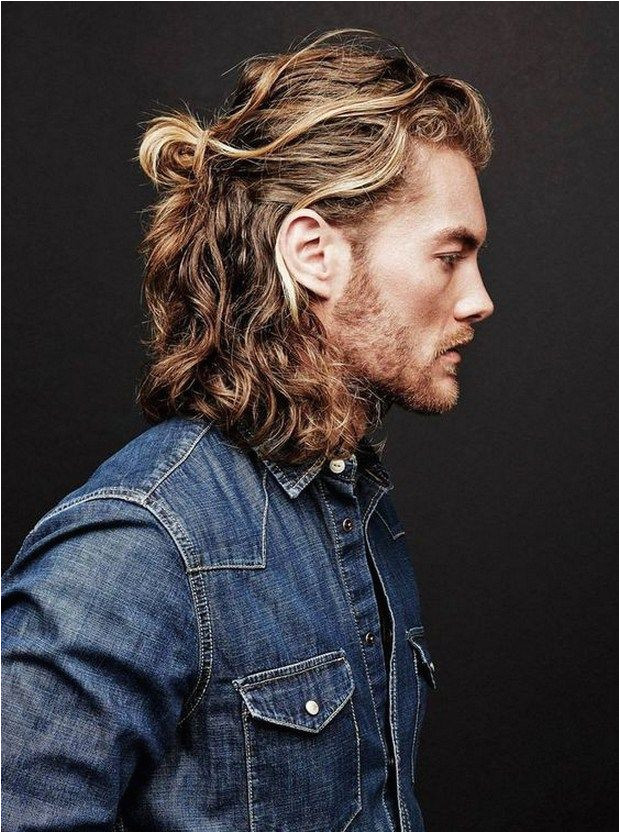 Long Curly Hairstyles For Men 2017