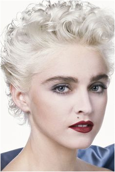 Jungs Madonna 80er Schneekönigin Platin Haar Pop Rocks Pop Musik