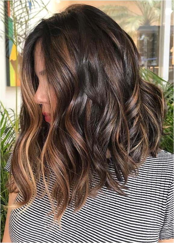Best Brunette Balayage Hair Color Ideas for 2019 HAIR Pinterest