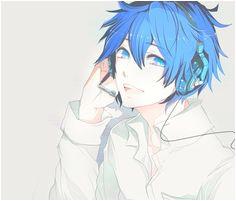 image by Bobbym on Favim Anime Guy Blue Hair