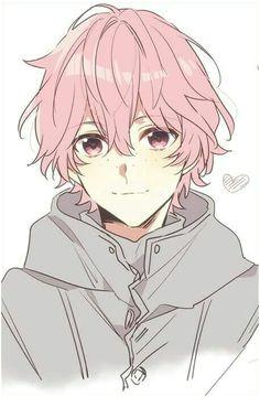 Anime Guy Light Red Hair