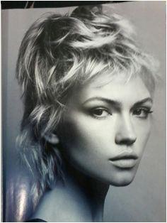 Y este para mi Sonia Modern Shag Haircut Modern Haircuts Short Haircuts Hairstyles