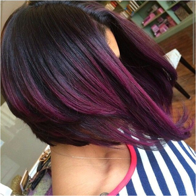 Hairstyles Black and Purple 21 Of the Latest Popular Bob Hairstyles for Women