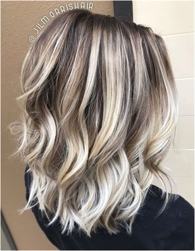 ❤COLOR & STYLE❤ Icy Ash Blonde Ombre Balayage Highlights BlondeOmbre