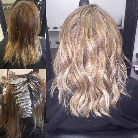 Hairstyles Blonde Brown Foils Image Result for Full Head Of Blonde Foils On Brown Hair