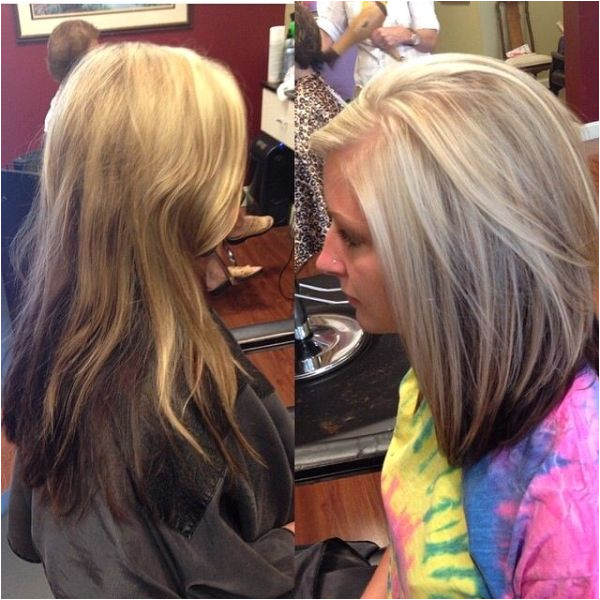 hair blonde with brown underneath highlights short long by flossie Hair styles Pinterest