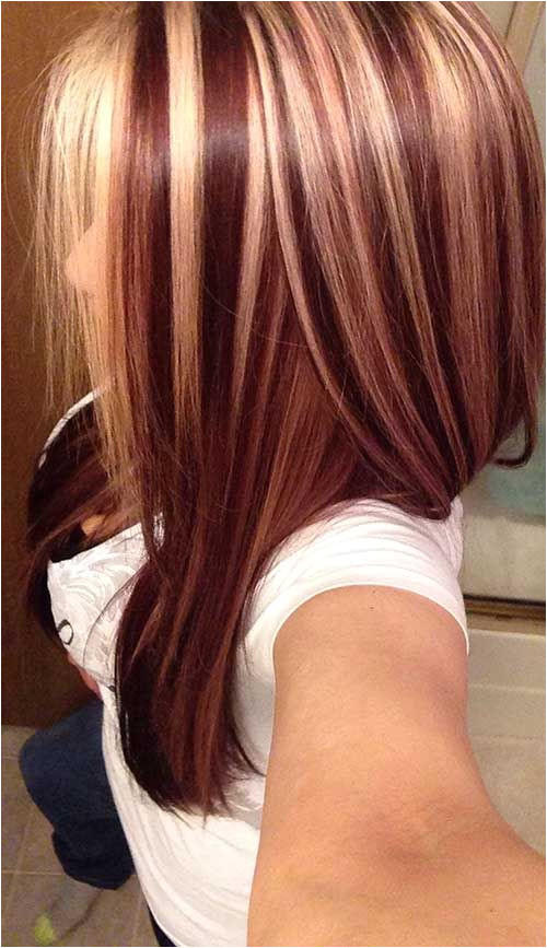 Love the auburn and blonde hightlights I m thinking this is my fall hair this year
