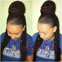 Braided Cornrow Hairstyles Hairstyle Braid African Braids Hairstyles Braid Hair Protective Hairstyles