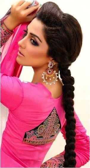 South indian hair plait for brides