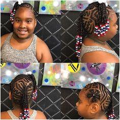 design braids beads kidshair allsmiles mobhair voiceofhair hairdesign happy brooklyn newyork hairstylist hairstyles braidstyles