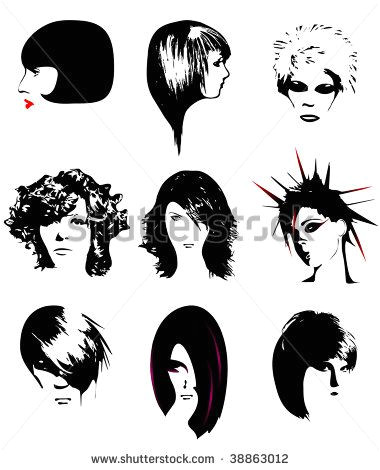 Punk hair free vector Free vector for free about 1 Free