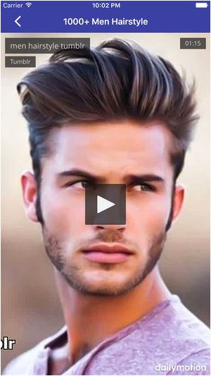 Hairstyles Design Dailymotion 1000 Men Hairstyle On the App Store