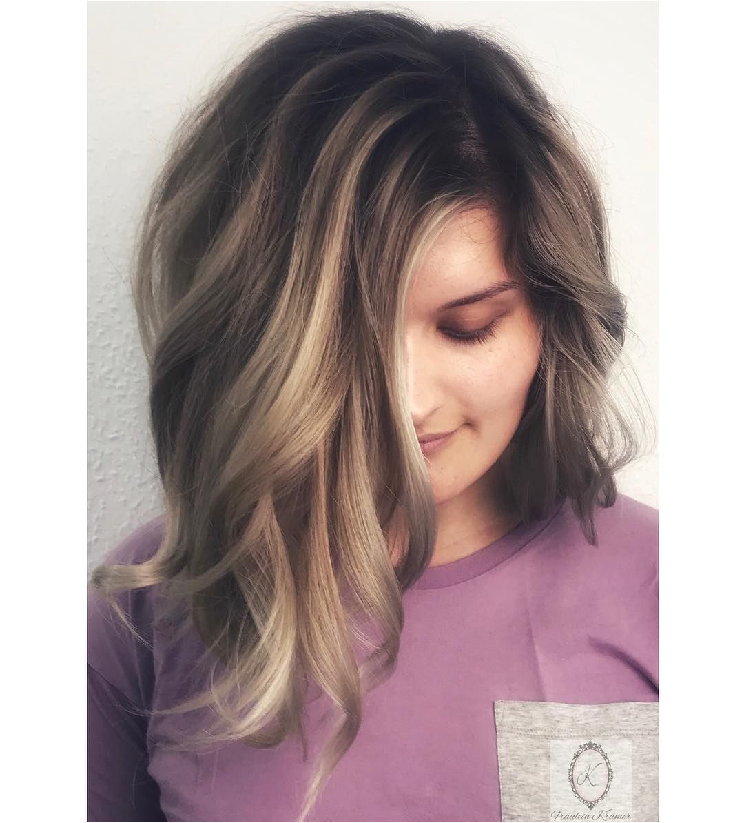 haircolor & hairstyle by Fräulein Krämer hairstylist Michelle michellerosshair rootstretch foilyage balayage babylights highlights…