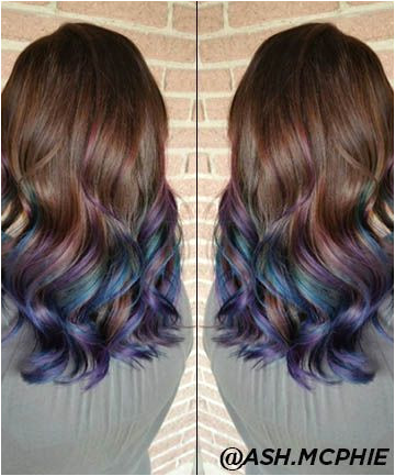 If you ve been dreaming of a mermaid mane this is how you vivid colors minus the damage