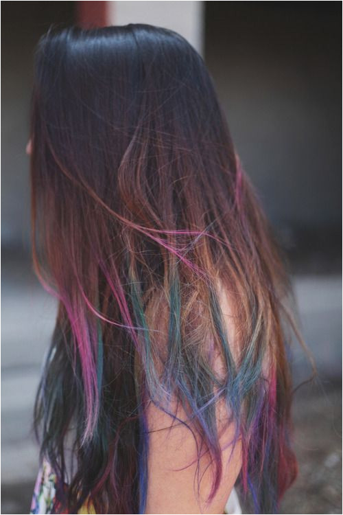 Inspiration Hair Tips Dyed Blue Tips Hair Colored Hair Tips Dyed Tips