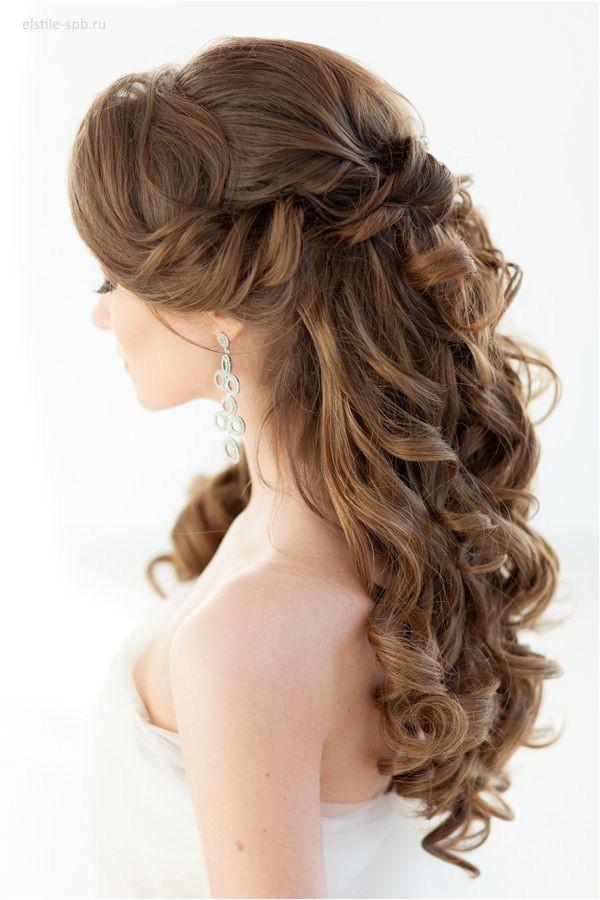 35 Tren st Half Up Half Down Wedding Hairstyle Ideas Wedding Hairstyles Pinterest