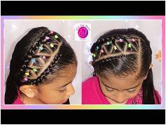 EASY School Hairstyles Short & Long Elastic bands Braided Headband