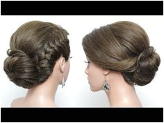 Simple Juda Hairstyle For Long Hair French Braid Low Bun