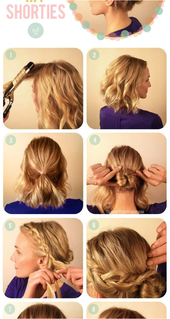 Hairstyles Easy Way Easy to Do Hairstyles for Girls Elegant Easy Do It Yourself