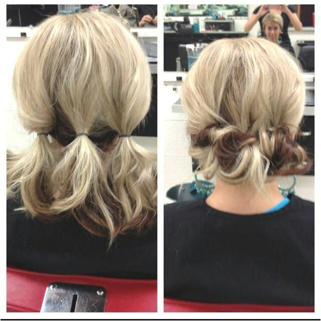 Hairstyles Everyday Updos Updo for Shoulder Length Hair … Lori