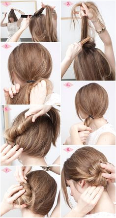 23 Gorgeous Hairstyle Ideas and Tutorials that can be done in 10 minutes Five Minute Hairstyles