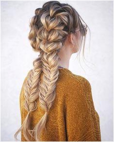 Double Dutch braid fishtailbraid Hair Inspiration Hair Inspo Long Hair Cuts Wavy