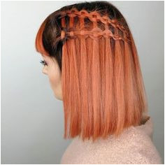 Knot braid Waterfall braid Hairstyles By · Picnic hairstyle