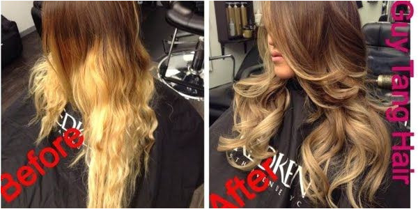 How to fix bad Ombre