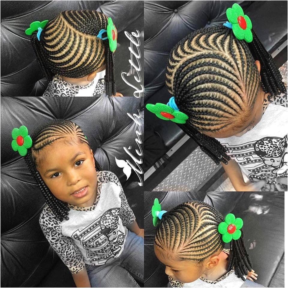 Hairstyle for Kids Girls New Little Girl Braiding Styles Teamnatural Pinterest Hairstyle for Kids Girls