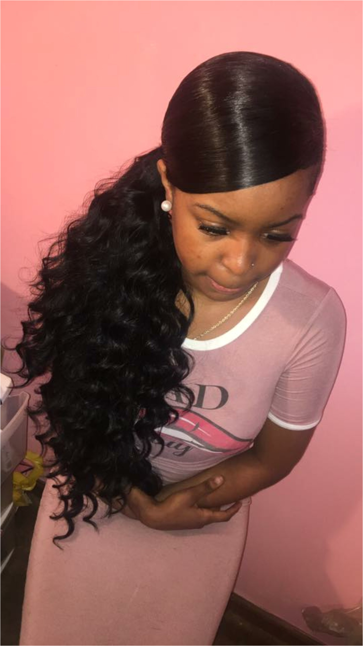 Weave Inspirational Black Girl Hairstyles · Black Girl Hairstyles With Curls Lovely Best Hairstyle For Long Face Thin Hair