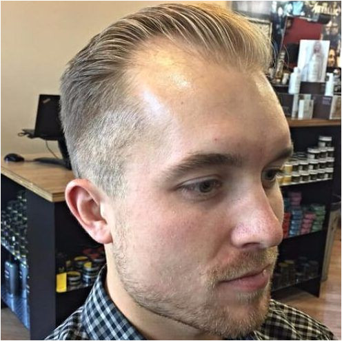 Hairstyles for Blonde Receding Hairline Thinning Hair Hairstyles for Men with Receding Hairlines