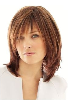 Medium length hairstyles for women over 50 Google Search by Nancy Goldin