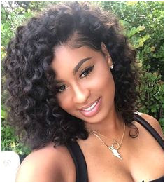 Curly hairstyles wigs for black women human hair wigs lace front wigs african american women wigs