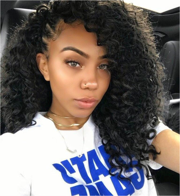 Hairstyles for Curly Crochet Hair for This Crochet Hair I Used Freetress Barbadian Braid Go Go Curl