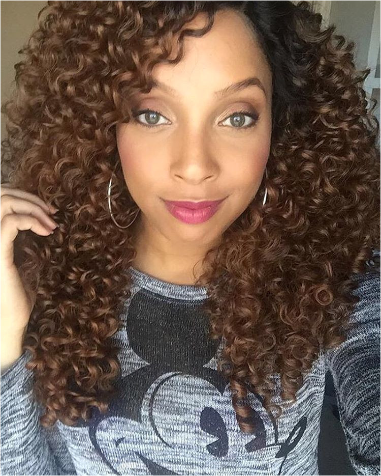 Big Medium Length Curly Hair IG curlsbygrace Outre Batik Bundle Dominican Curly Wig
