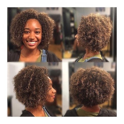 Hairstyles for Curly Hair 3c 42 Curly Bob Hairstyles that Rock In 2019