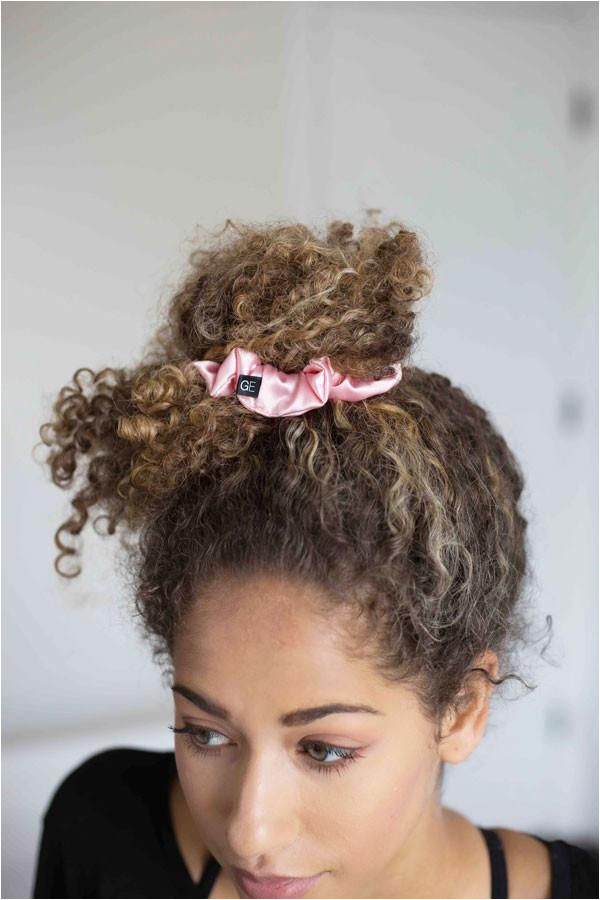 Curly Girl Method Luxury Hair Scrunchies Protective Hairstyles Hair Ties Stylish
