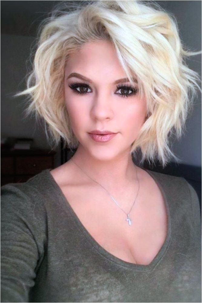 Lovely and Easy Hairstyles for Short Wavy Hair picture 2