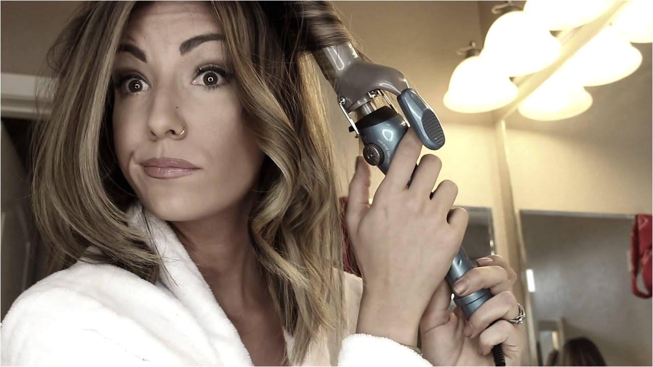 How to curl Medium length hair
