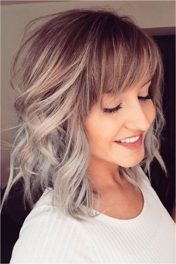 Popular Styles with Fringe Bangs That Will Elevate Your Beauty ☆ See more
