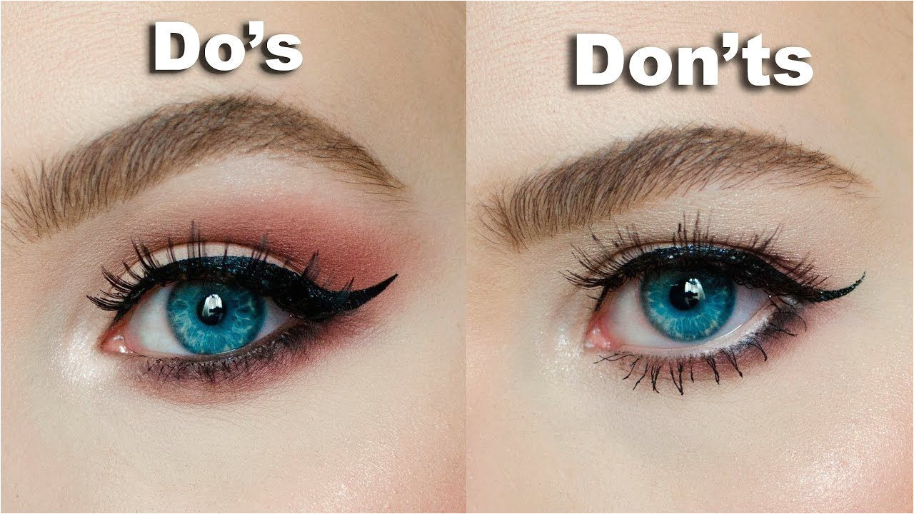 DO s & DON Ts for Hooded Downturned eyes │MARIA ALEXANDRA