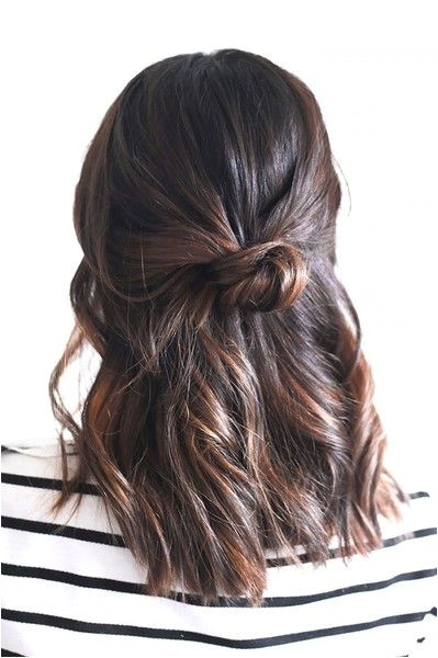We Found the 21 Best Lazy Girl Hairstyles on Pinterest So You Don t