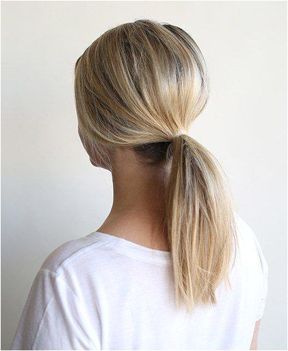 Trend Alert 3 Easy Ways to Wear a Low Pony HAIRSTYLES Pinterest