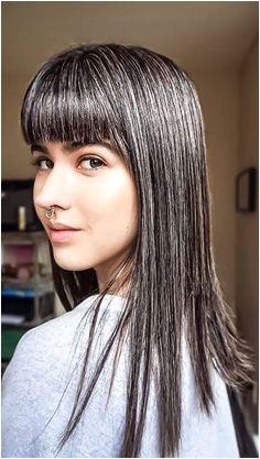 Grey Hair With Bangs Grey Hair Don t Care Long Gray Hair
