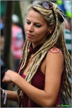 half dreads Half Dreads Partial Dreads Dreadlocks Girl Blonde Dreads Dreadlock Extensions