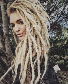Hair White Dreads Natural Dreads Dreadlock Hairstyles Blonde Dreadlocks Blonde Dreads Girl